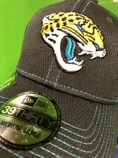H367 NFL Jacksonville Jaguars New ERa 39THIRTY Sideline Hat Cap NWT Med/Large