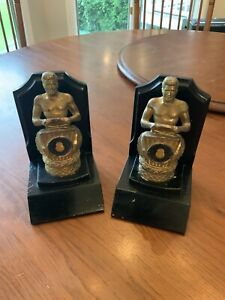 Vintage Teamsters Union Rare Book Ends