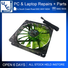 Brand New Aerocool Shark Cooling Case Fan 120mm Evil Green LED Edition 3-Pin