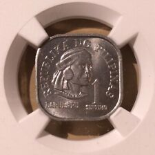 1975 FM PHILIPPINE 1 Sentimos NGC MS 65 - Aluminum - Top Pop!!!