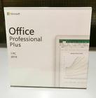 Microsoft Office 2019 Professional Plus For Windows PC Authentic Lifetime DVD