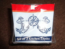 Nautical towels and dishcloths ebay