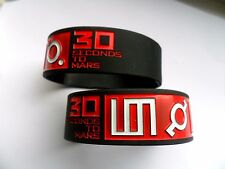 30 SECONDS FROM MARS   Silicon // Rubber Wristband // Bracelet