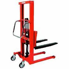 New Hydraulic Stacker Step Type 661 Lb Capacity 591 Lift