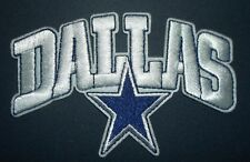 "Dallas Cowboys Embroidered PATCH~4"" x 2 5/8""~Iron or Sew on~NFL~Ships FREE"