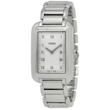 Fendi Classico Silver Dial Mens Stainless Steel Watch F701016000