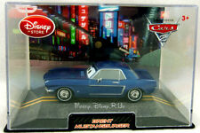 Disney Store CARS 2 Brent Mustangburger Diecast In Collector Case Rare New
