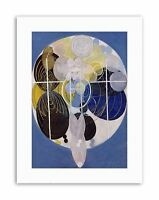 HILMA AF KLINT ABSTRACT CIRCLES Poster Picture Painting Canvas art Prints