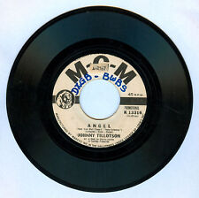 Philippines JOHNNY TILLOTSON Angel 45 rpm PROMO Record