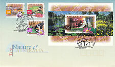 AUSTRALIA 10 APRIL 1996 THE NATURE OF AUSTRALIA OFFICIAL FIRST DAY COVER SHS