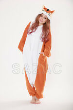 Squirrel Kigurumi  Fleece Pajama Costume-(SAZAC Original)-2774