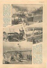 Jaffa City Palestine/Car Autocar Passage à Niveau Boucheville  1936 ILLUSTRATION
