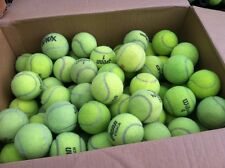 40 Used Tennis Balls for Schools, Chairs & Dog Toys
