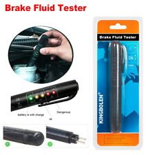 Brake Fluid Liquid Oil Tester Pen 5 LED Indicator Car Testing Tool for DOT3/DOT4