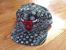 NEW Adidas Chicago Bulls Paisley Snapback Hat NBA champion jersey starter jacket