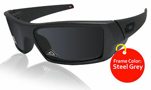 Oakley sunglasses Gascan steel grey frame Prizm Black Polarized lens 0OO9014