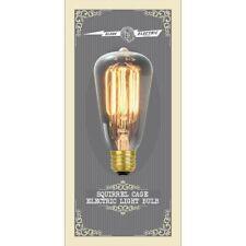 Globe Electric 40-watt Vintage Edison S60 Squirrel Cage light bulb