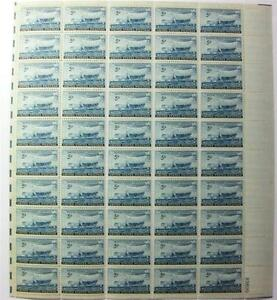 MNH! Scott # 958 ~ 1948 5¢ SWEDISH PIONEER ISSUE SHEET 50 STAMPS