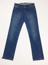 Diesel Fellow 708 w29 L32 tg 42 44 jeans dritto blu donna usati vintage T1045