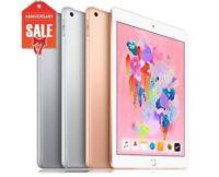 "Apple iPad 6th 2018, 32GB 128GB, Wifi + Cellular 9.7"" GRAY SILVER GOLD (R-D)"