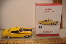 ~1970 BUICK GSX~24TH IN THE CLASSIC AMERICAN CARS SERIES~2014 HALLMARK ORNAMENT~
