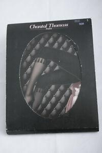 Chantal Thomass ~ CAPRI TASSEL TIGHTS ~ black BNWT small Sz 1 20 & 80 den