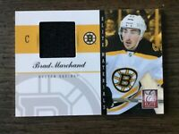 BRAD MARCHAND 2012 Panini Elite Large Black Jersey Card #6, Clean, See!