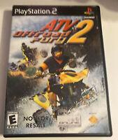 ATV Offroad Fury 2 (Sony PlayStation 2 PS2, 2002)