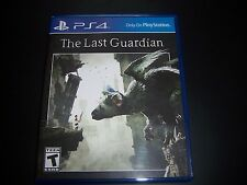 Replacement Case (NO GAME) THE LAST GUARDIAN PlayStation 4 PS4 100% Original Box