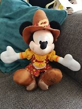 Disney Mickey Mouse Disneyland World Thanksgiving 2009 Beanie Plush/Soft Toy
