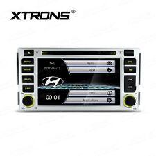 "AUTORADIO 6,2"" Hyundai Santa Fe Navigatore Gps Bluetooth Comandi Volante Dvd JJ"