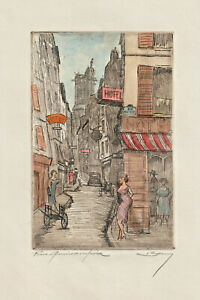 Original etching by Unidentified artist / France