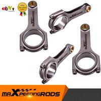 Connecting Rod Rods for Honda Civic CRX D16 D16A D16Y7 D16Y8 D16Z6 4PCS Conrod
