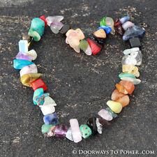 John of God Blessed Chakra Stones Crystal Energy Bracelet Medium CAB-7