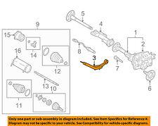 GM OEM Carrier Front Axles-Mount Bracket 23229694