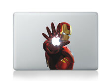 MacBook 13 in (environ 33.02 cm) Decal Autocollant Iron Man Art Pour Apple Ordinateur Portable
