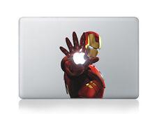 MacBook 15 pollici Decalcomania Sticker IRON MAN ARTE Per Laptop Apple