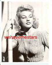 Vintage Gale Robbins GORGEOUS SEXY TIGHT SWEATER '42 CBS RADIO Press Portrait