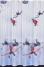 """voilages , les avions ( film Disney """"Planes"""" ) , larg. 153cm , H. de 120 à 158"""