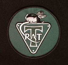 Paddy Hopkirk 1960//70s Woven Cloth Patch Badge Genuine Original Gulf Fuels