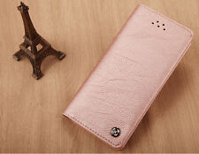 Genuine XUNDD Leather Wallet Card Holder Case Cover for iPhone 6s 7 Plus 5s iPhone 6/6s Rose Gold
