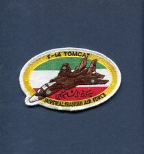 IMPERIAL IRANIAN AIR FORCE GRUMMAN F-14 TOMCAT IRAN Non US Navy Squadron Patch