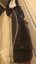 Gosen Golf Sunday Bag Black White Excellent Cond w/pocket Cameron style