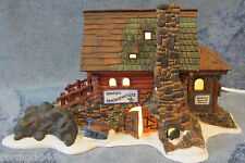 Dept 56 Semple's Smokehouse Hand-Painted Lighted Porcelain Building New England