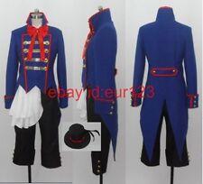 Black Butler Kuroshitsuji Drocell Cainz Cosplay Costume Custom