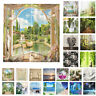 65x59 Inch 3D Printed Curtains Living Room Bedroom Window Drapes 2 Panels Drcor