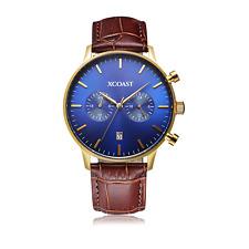 Armbanduhr  XCOAST Stormbreaker Chronograph Datum elegant Braun Blau