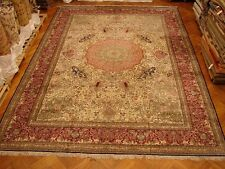 14X20 Mansion Extra Large SILK Rug NEW Handmade PICTORIAL WILDLIFE ARTISTIC Rug