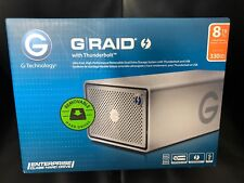 G-technology G-raid 8TB Thunderbolt 2 Usb 3 0G04085