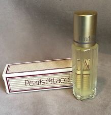 Avon Pearls & Lace .33 oz Satin Cologne Rollette Bottle in Box